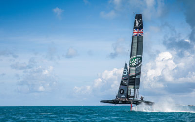 America's Cup, avril 2017